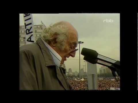 Demo Alex 04.11.1989 15 Stefan Heym
