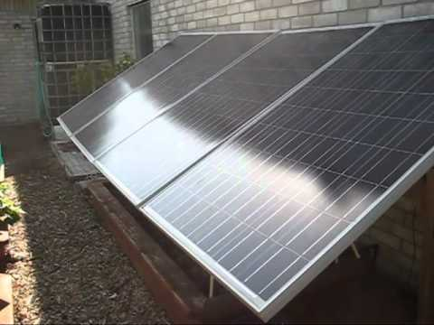 DIY Solar Panel System: I've Gone 100% Solar Power