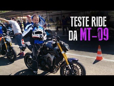 Test Ride na MT-09 | Uma voltinha para experimentar