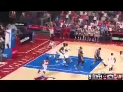 NBA 2K14 PS4 Milwaukee Bucks vs Washington Wizards Playoffs