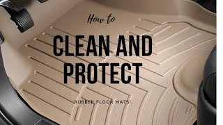 HOW TO CLEAN AND PROTECT FLOOR MATS!  |  Blackfire - Mat Cleaner and Protectant