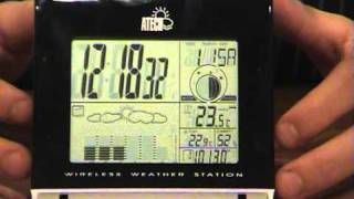 City Software Wireless Weather Station Video Demonstration