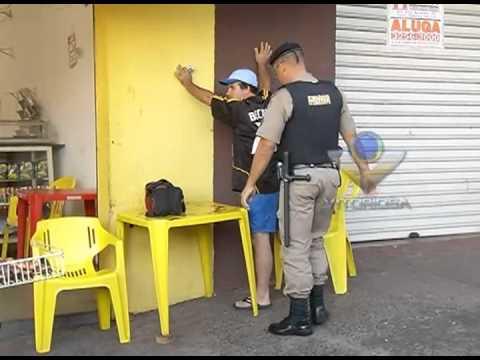 Polícia faz abordagens de rotina durante treinamento - parte 2