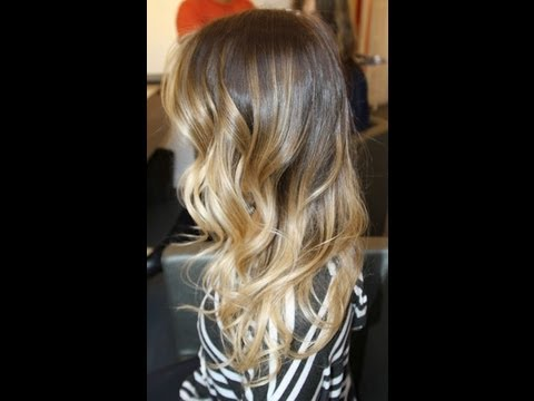 Watch me get Ombr Hair!