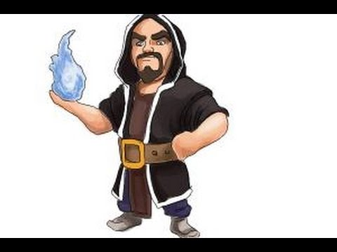 Wizard Pictures to Draw Draw Clash of Clans Wizard
