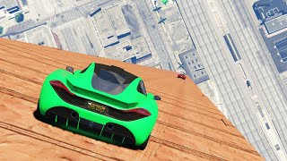 FASTEST SPEED IN GTA! (GTA 5 Funny Moments)