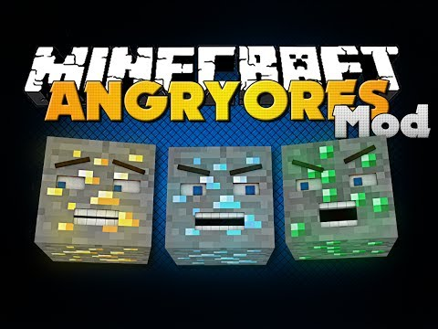 Minecraft Mod - Angry Ores Mod - New Items, Dimension and Boss