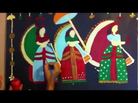 Creative Painting - Indian Folk Art painting