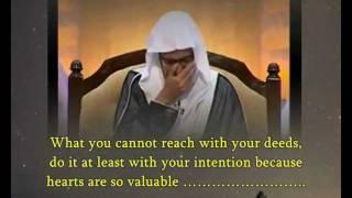"Al Maghamsi speak wisdom & cry :""How to glorify Allah""...(certainly you never heard such speech)"