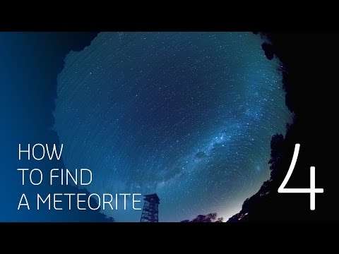 Here's a story ... a 4.5 billion year old meteorite story!