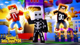 Minecraft Toys #23 - SKULL TROOPER TAKES OVER THE TOY STORE!!
