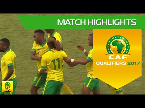 Gambia Vs South Africa | Africa Cup Of Nations Qualifiers 2017