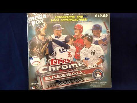 2017 Topps Chrome Baseball Update Series