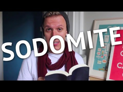 I am a sodomite - Homosexuality, Christianity, and Justice