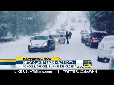 Extreme Winter Storm Hits the Northeast