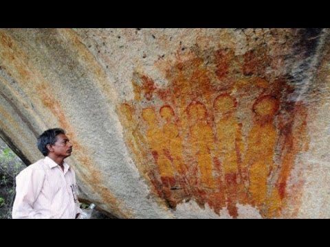 MUST SEE ALIEN DISCLOSURE - India Cave Art Alien UFO 2014