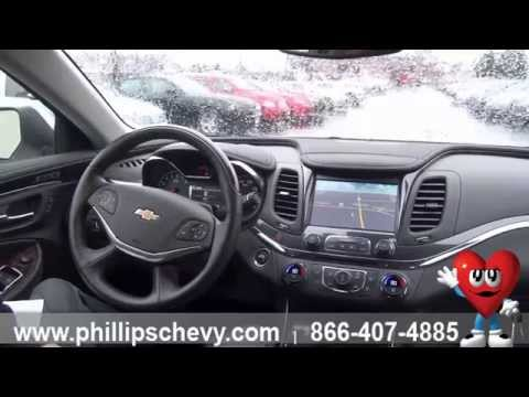 2014 Chevy Impala - Advanced Safety Features/Package - Phillips Chevrolet - New Car Dealership Sales