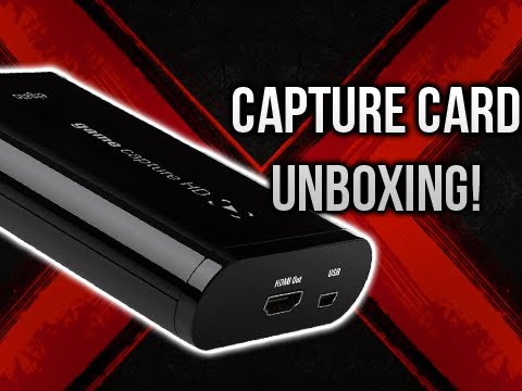 Elgato HD Capture Card UNBOXING!!! (For Xbox 360/PS3 Gameplay!)