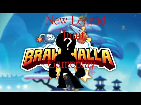 New Legend ''Inuit'' Spear Bow | Brawlhalla Gameplay