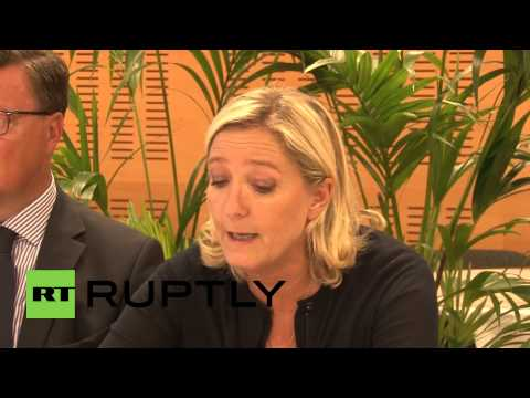 "France: ""Russian embargo an excellent indicator of the inability of Brussels"" says Le Pen"
