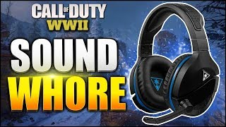 How to Sound Whore/Hear Footsteps BETTER in COD WW2! (Best Headset for Footsteps)