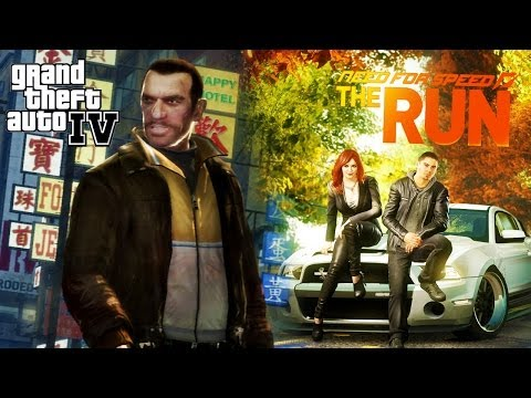 Need For Speed The Run Trailer in GTA IV!