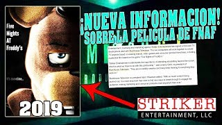 ¡NOTICIA DE FNAF! | Five Nights at Freddy