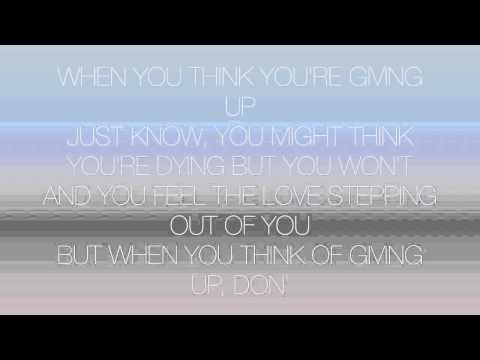 David Guetta ft Sia Bang My Head (Lyrics Video)