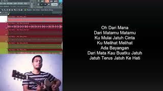 Via Vallen - Dari Mata [Dangdut Version Lyric] lirik