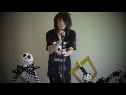 This is Halloween cover *Nightmare Before Christmas*