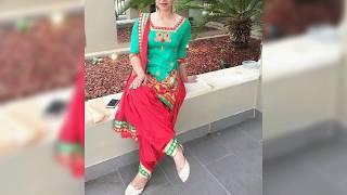 Top Stylish Party Wear Punjabi Dress For Girls 2019   Trendy Punjabi Salwar Suit Design 2019   T.F.
