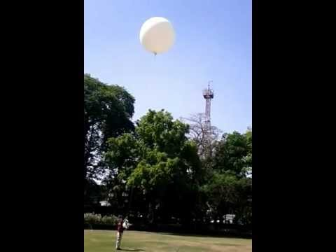 PAWAN, India CPR-2000 Meteorological Balloon, Weather Balloon Launch