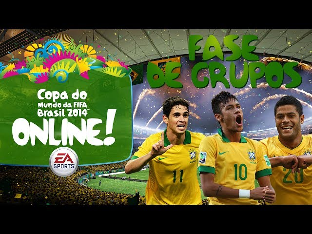 2014 Fifa World Cup Brazil - Copa do Mundo Online! - Fase de Grupos! -BRASIL-
