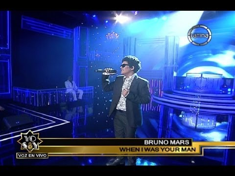 Bruno Mars tocóa Katia Palma con When i was your man