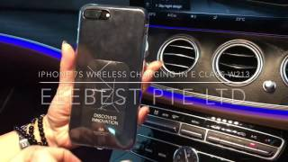 Wireless Charging Retrofitted in Mercedes-Benz E Class W213
