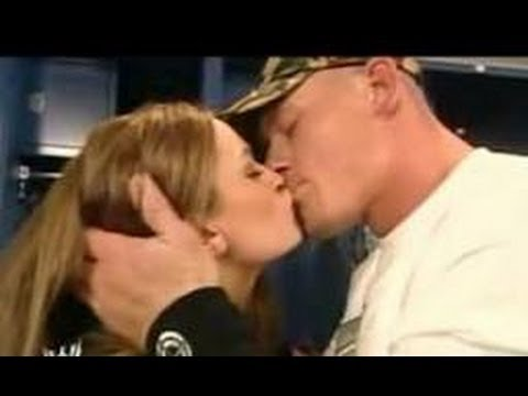 John Cena Kisses Maria video