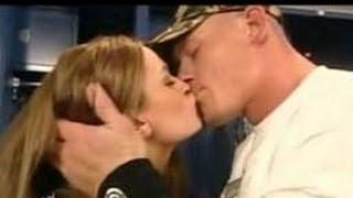 John Cena Kisses Maria