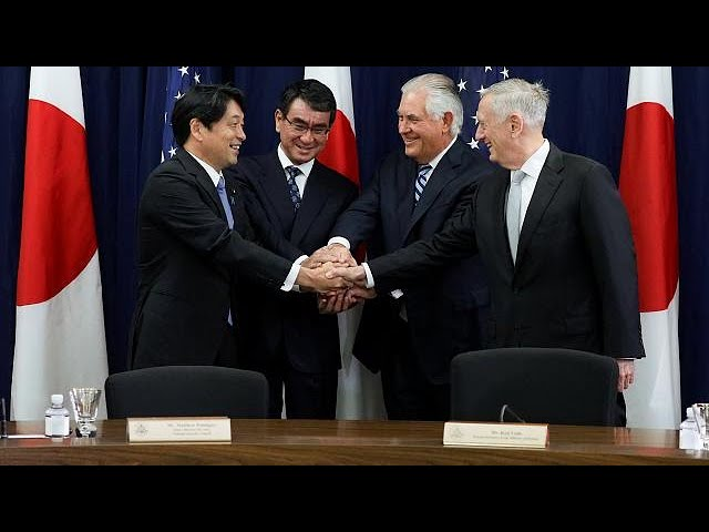 US and Japan agree to cooperate on matter of North Korea