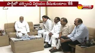 AP TDP MPs meet TRS MPs, Request support to no-confidence motion || Sakshi TV