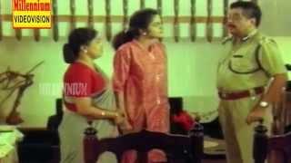 Madhubala Kissing Scene - Ennodishtam Koodamo - Comedy Scene