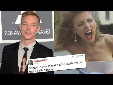 Taylor Swift Body Shamed By Diplo video