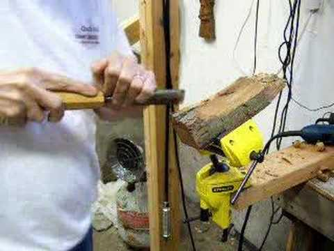 Wood Carving wood spirit lesson #1