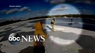 Good Samaritans rescue teen girl after snowmobile accident