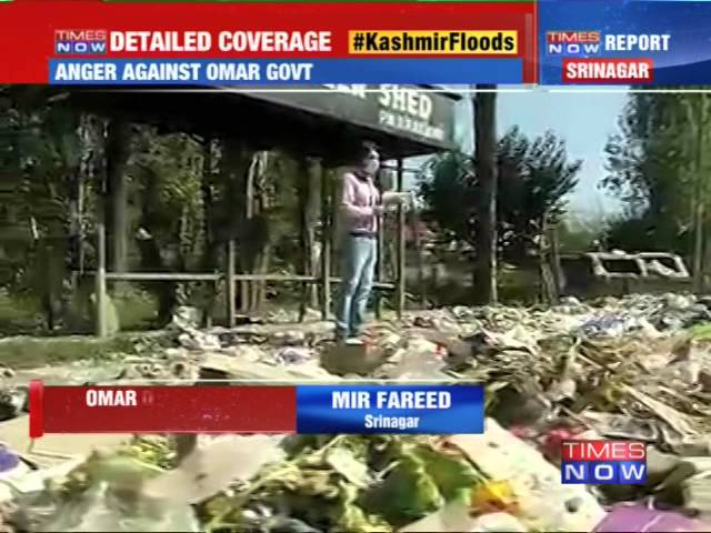J&K floods: Anger against Omar Abdullah Government
