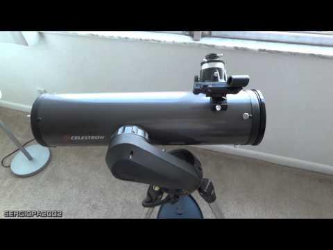 Telescopio Celestron NexStar 130SLT comentarios y demostracion