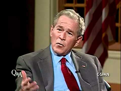 George W. Bush on his Future in Politics