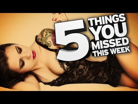 Porn's Version Of Upworthy... 5 Things You Missed This Week! video