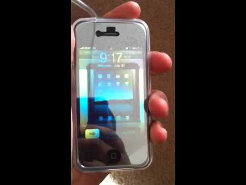 Iphone 4 mirror screen protector youtube for Mirror iphone to tv