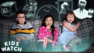 Kids Freak Out Watching E.T. for the First Time | Kids Watch | HiHo Kids