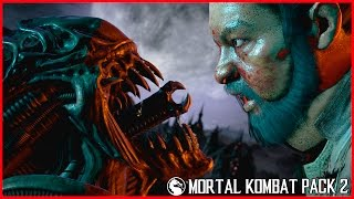Mortal Kombat X Alien Fatality All Fatalities Brutalities, X-Ray, Secret Brutality + Intro, Ending